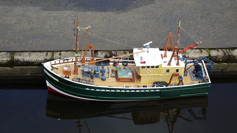 East kilbride model boat club our boats for Model fishing boats